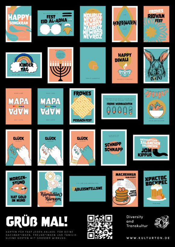 Grußkarten divers